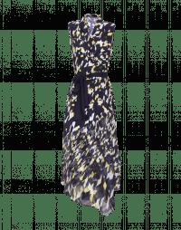 COMPELLING: Wrap-around sleeveless dress