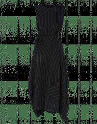 ILLUSION: Multi-panel pinstripe dress