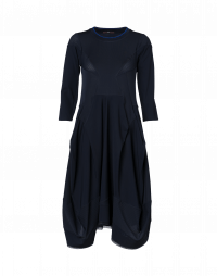 PRAISE: Multi seam, multi-panel dress with 3/4 sleeves