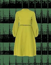 AGREE: Kleid aus Chartreuse-Grünem Technostrick