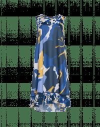 SUNLIT: Sleeveless shift dress in summer