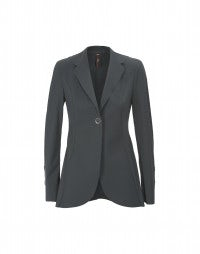 BOSUN: Grey sleek fit longer line jacket