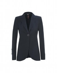 BOSUN: Giacca lunga in Sensitive® blu navy