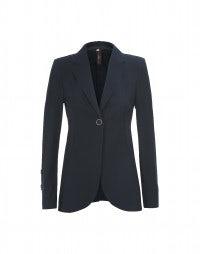 BOSUN: Navy Blue sleek fit longer line jacket