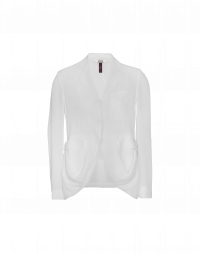 CHOSEN: White tech georgette jacket