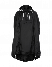 CONFLICT: Oversize pull-over extra long anorak