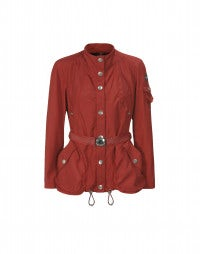 SCHOONER: Cherry red yacht jacket