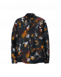 WINNER: Printed tech twill shirt style bomber jacket