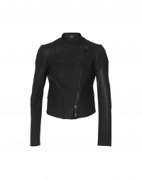 GLARE: Biker-style tech jersey jacket