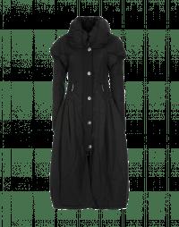 RESPOND: Cappotto lungo nero imbottito