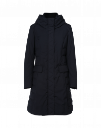STORMY: Padded and shaped coat in tech twill