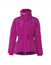 HUDDLE UP: Cyclamen down-filled jacket