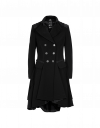 ACT-OUT: Cappotto blu navy con