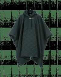 TWISTER: Cappa verde bosco trapuntata