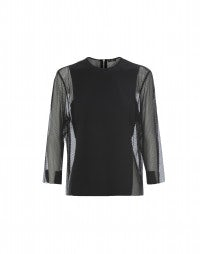 OCTAYE: Blusa in Sensitive® con rete tecnica