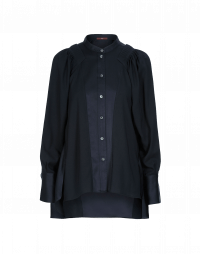 VIRTUAL: Matt & shine tech satin shirt