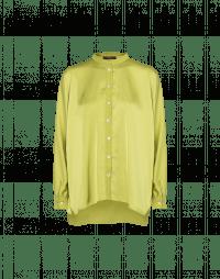 NICETY: Camicia in raso tecnico verde chartreuse