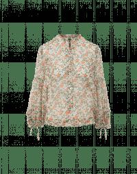 ANTICIPATE: Camicia in georgette tecnica con stampa floreale