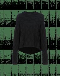 CURIOSITY: Flared sweater with hi-lo hem