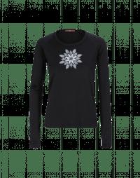 LONER: Geo-floral motif top