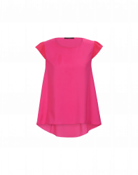 SWIFT: Hot pink cap sleeve top