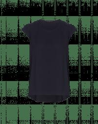 SWIFT: Navy cap sleeve top