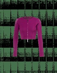 HALFTIME: Cardigan corto con zip