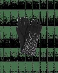 QUIVER: Guanti in twill tecnico con stampa metallica