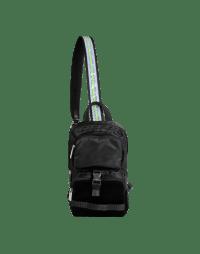 BASHFUL: Sling bag in tech fabrics