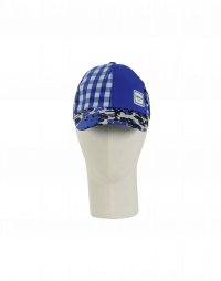 WATCH OUT: Cappello da baseball blu a fiori e quadri
