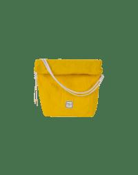 CHARMING: Borsa a sacchetto gialla