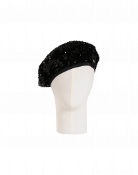 PINNACLE: Soft sequin beret