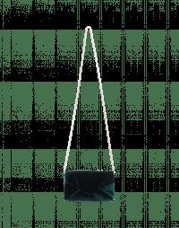 MORE-OR-LESS: Borsetta a bustina in velluto verde
