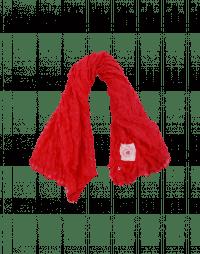 LOOPHOLE: Sciarpa quadrettata rossa