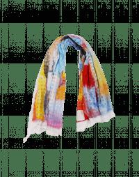 WHIRLIGIG: Sciarpa quadrettata con stampa multicolore
