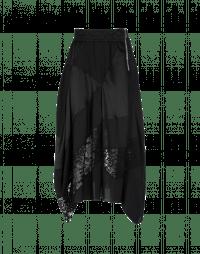 CONCEPT: Matt shine semi-sheer skirt