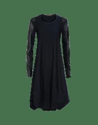 FOREVER: Stretch pinstripe dress
