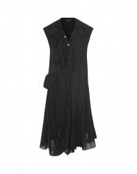 HOEDOWN: Black flamenco frill dress