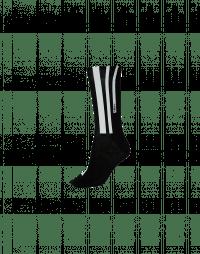 FOLLOW-UP: White on black vertical stripe sock