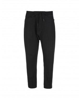 RAVEN: Pantaloni jogger neri