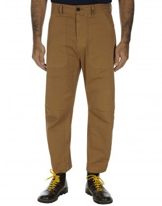 AMBLE: Man's work pant in cotton drill