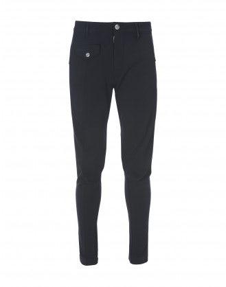 MAC: Pantaloni affusolati blu scuro
