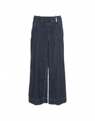 HORNPIPE: Culottes in denim
