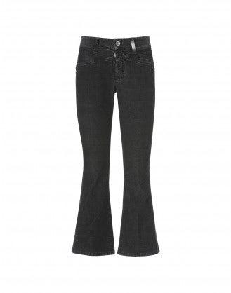 SLANG: Pantaloni a campana in velluto a costine