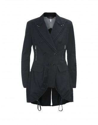 ADMIRAL: Ruched riding jacket