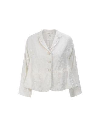 REGENT: Crème brocade jacket