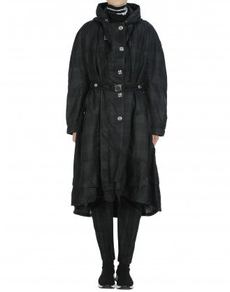 ENDURE: Long oversize parka coat