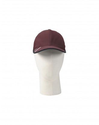 BUSSY: Cappello da baseball in rete, color borgogna