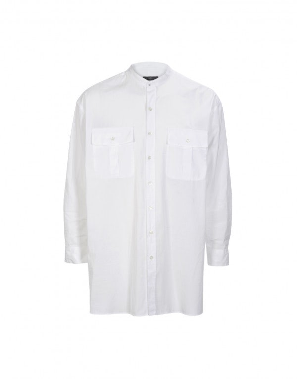 FRANS: Camicia bianca in cotone