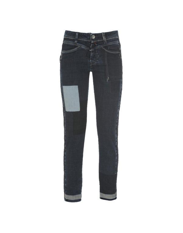CALL-ME: Jeans aderenti effetto